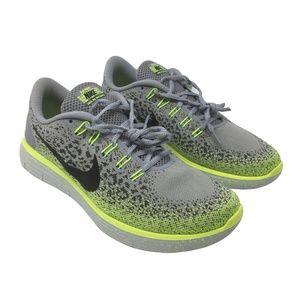 5ec4bedd2b80 Nike Shoes - NIKE Free Run Women 11 Sneaker Grey Neon Leopard